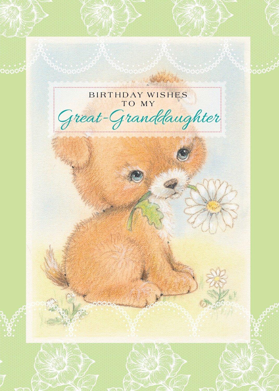 FR0317   Family Birthday Card / Great-Granddaughter