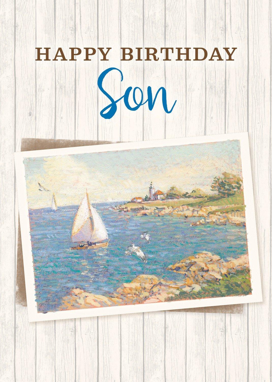 FR0326   Family Birthday Card / Son