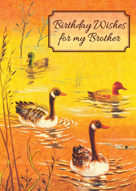 FR0328   Family Birthday Card / Brother