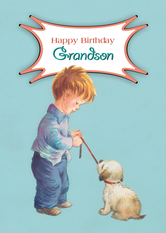 FR0330   Family Birthday Card / Grandson