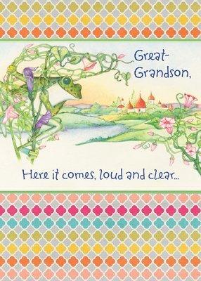 FR0331   Family Birthday Card / Great-Grandson