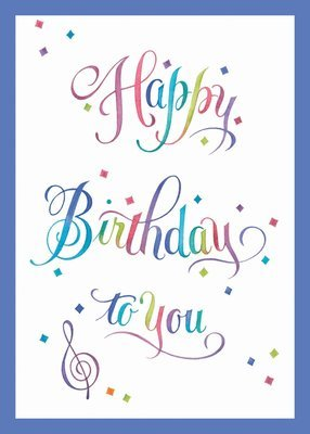 FR8813   Birthday Card