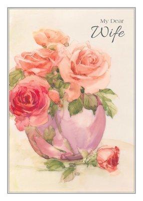 FR0300   Family Birthday Card / Wife