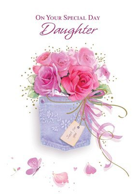 FR0206   Family Birthday Card / Daughter