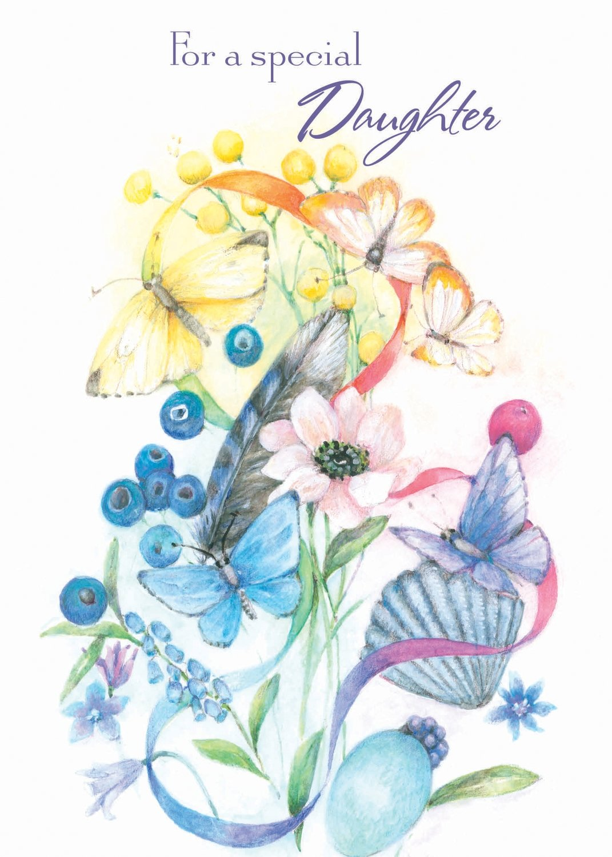 FR0225   Family Birthday Card / Daughter