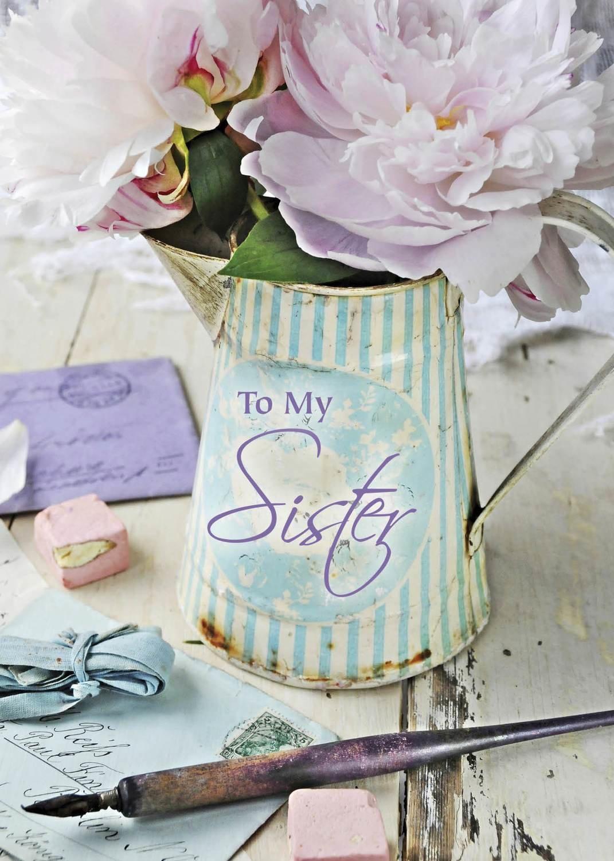 FR0202   Family Birthday Card / Sister