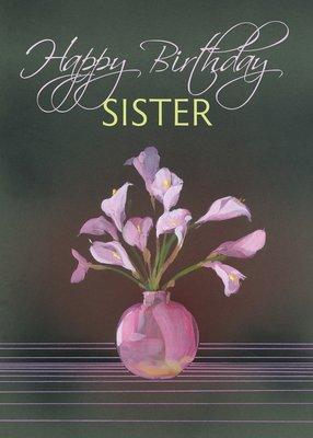 FR0291   Family Birthday Card / Sister