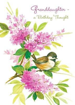 FR0252   Family Birthday Card / Granddaughter