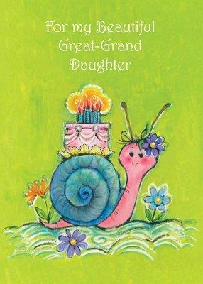 FR0207   Family Birthday Card / Great-Granddaughter