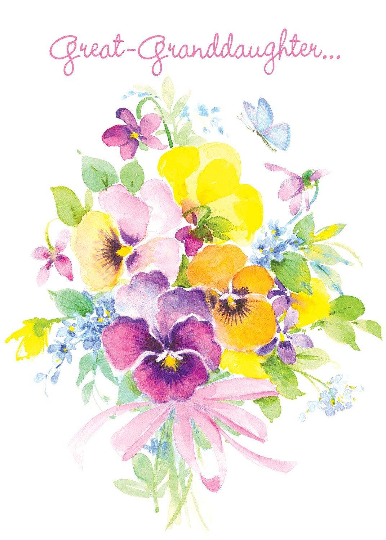 FR0219   Family Birthday Card / Great-Granddaughter