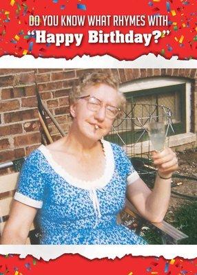 AP1366   Birthday Card