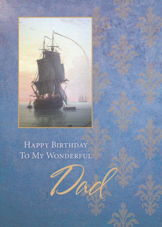 FR0243  Family Birthday Card / Father