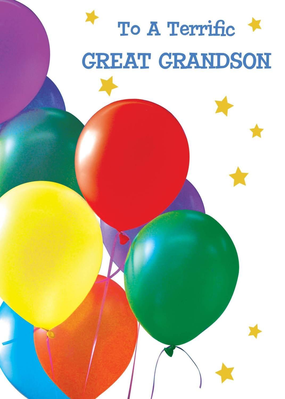 FR0233  Family Birthday Card / Great-Grandson