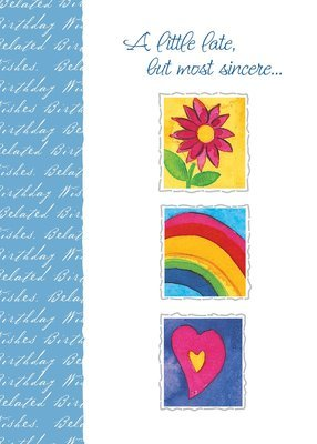 FR8527   Belated Birthday Card