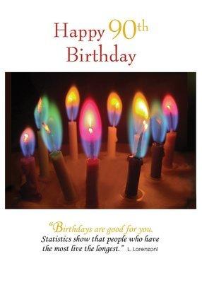 FR8467   Milestone Birthday Card / 90