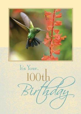 FR8419   Milestone Birthday Card / 100