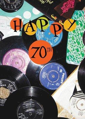 FR8463  Milestone Birthday Card / 70