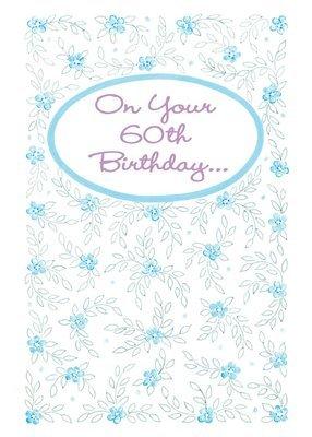 FR8412  Milestone Birthday Card / 60