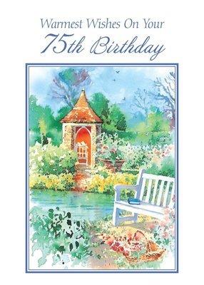 FR8421  Milestone Birthday Card / 75