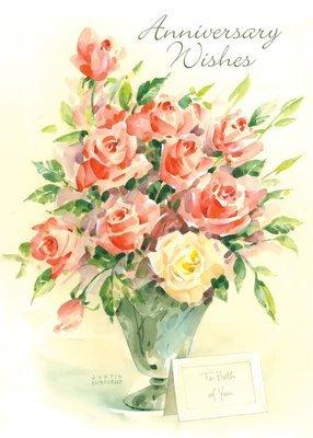 FR9113   Anniversary Card