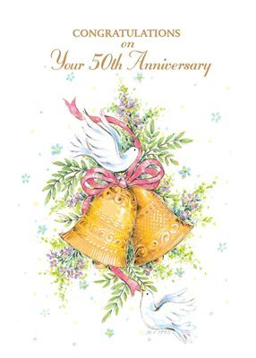 FR9222   Anniversary Card / 50th