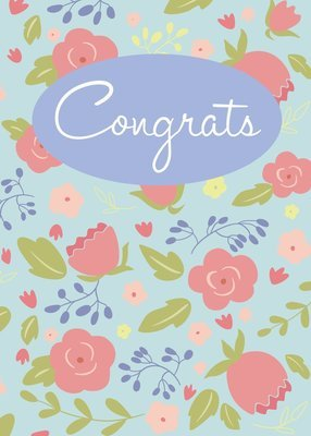 FR1406   Congratulations Card