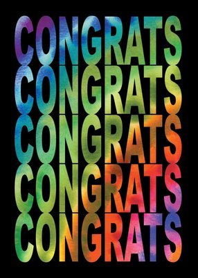 FR1417   Congratulations Card