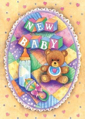 FR1847   Congratulations Baby Card