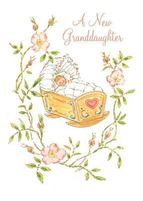 FR1501   Congratulations Baby Card / Granddaughter
