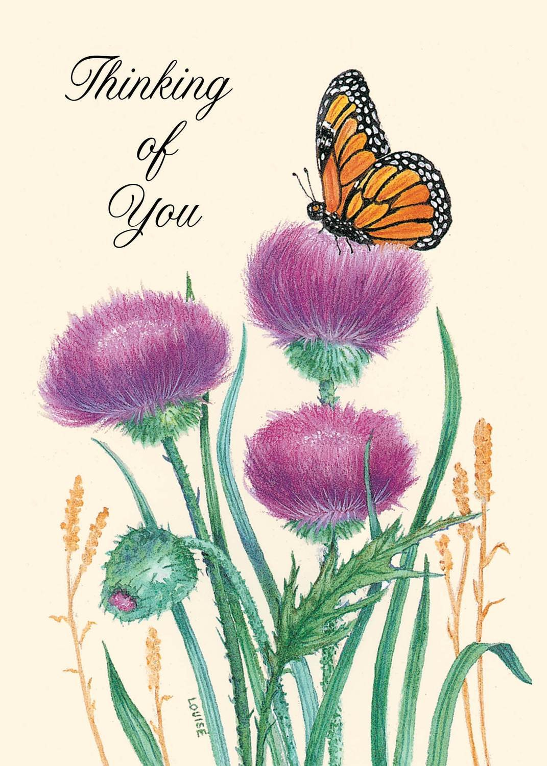 FR8640   Thinking of You Card