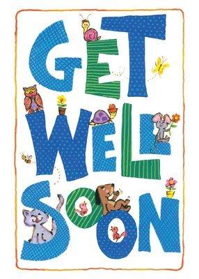 FR9644  Get Well Card