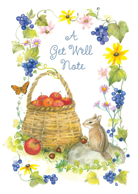 FR9698  Get Well Card