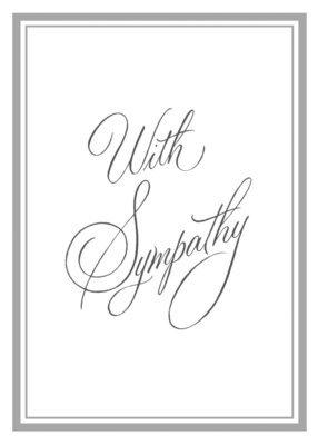 FR1237   Sympathy Card