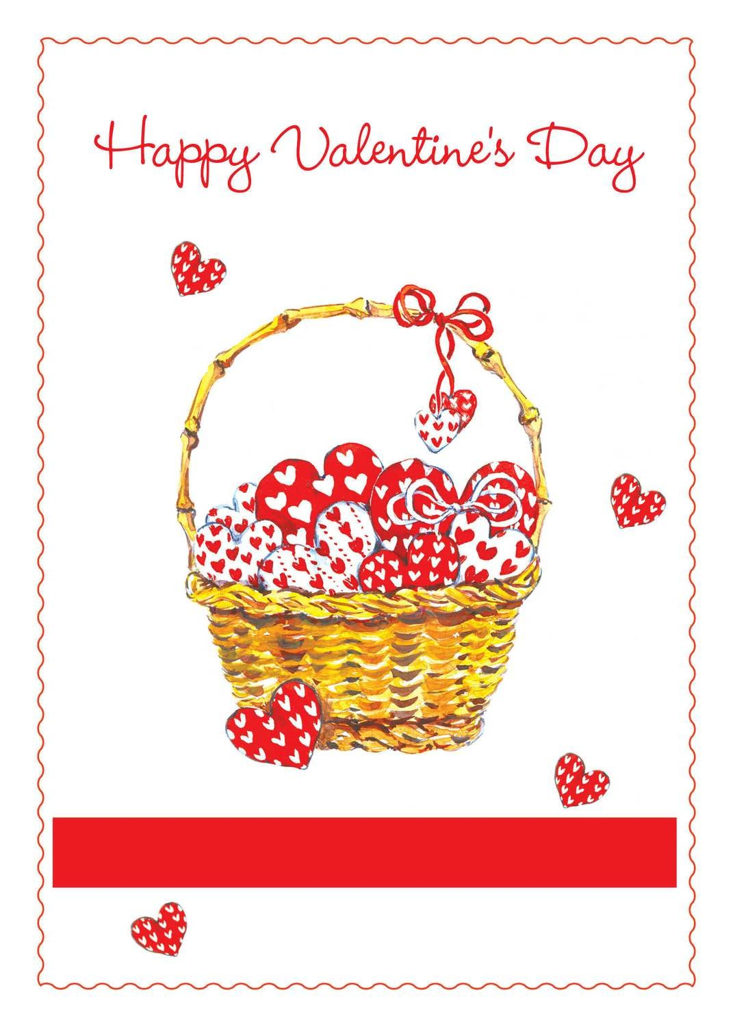 FRS3327   Valentine's Day Card