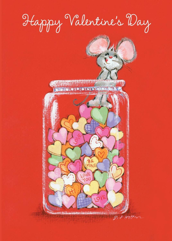 FRS3335   Valentine's Day Card
