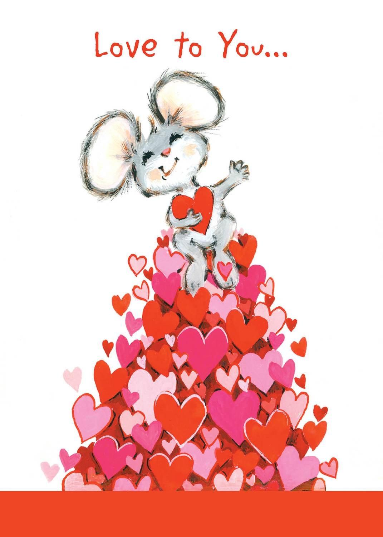 FRS3339   Valentine's Day Card