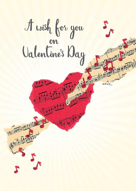 FRS3409   Valentine's Day Card