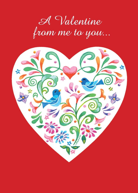 FRS3503   Valentine's Day Card
