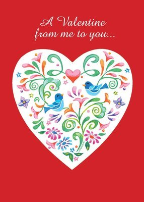 FRS3503   Valentine's Day Card