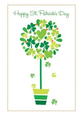 FRS7800   St. Patrick's Day Card