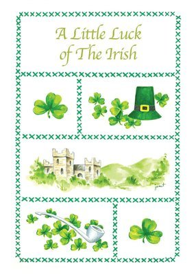 FRS7820   St. Patrick's Day Card