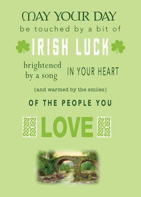 FRS7821   St. Patrick's Day Card