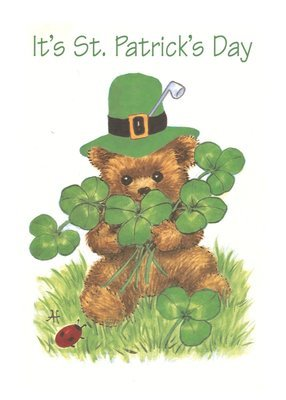 FRS7827   St. Patrick's Day Card