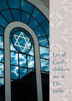 FRS2488   Jewish Celebrations Card / Passover