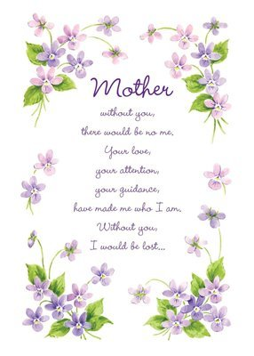 FRS6511   Mother's Day Card