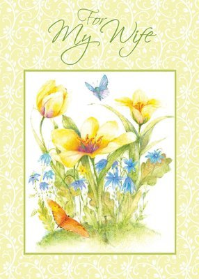FRS7507   Mother's Day Card / Wife