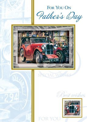 FRS6200   Father's Day Card