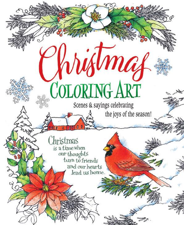 FRG17218  Seasonal Coloring Book / Christmas
