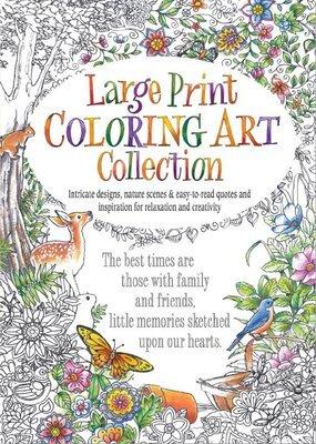 FRG17198  Coloring Book / Large Print