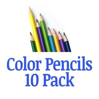 FRG19001 Color Pencils / 10 pack